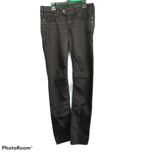 Silver Jeans Tuesday Slim Size W 27 L 33 in Black